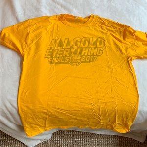 Golden state warriors final 2017 t shirt